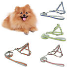 WR_ AM_ FT- Pet Dog Harness Vest Leash Nylon Traction Rope Adjustable Reflective