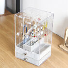 Jewelry Display Holder Box Acrylic Earring Necklace Stand Case Organizer Rack
