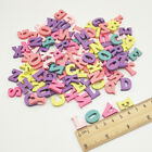 Multi-coloured DIY Wooden Letters Numbers Craft Party Alphabet Decoration