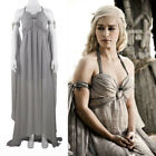 Game of Thrones Mother of Dragons Daenerys Targaryen Costume Gorgeous Dress