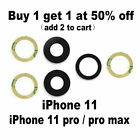 Iphone 11 / Pro / Pro Max Rear Back Camera Lens Cover Replacement With Adhesive
