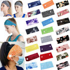 New Headband Hairband With Buttons For Face Mask Turban Women Girls Headwrap