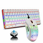 Mechanical Gaming Keyboard Rainbow LED Backlit 82 keys Anti-ghosting For Gamer