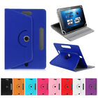 "360° Rotate Stand Leather Flip Case Cover Fits Amazon, Dell, Honor 7"" 10"" Tablet"