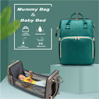 3 In 1 Diaper Tote Bag Baby Bed Travel Bassinet Nappy Changing Station Carrycot