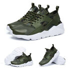 Mens Womens Pumps Running Trainers Lace Up Sports Gym Casual Shoes Lightweight