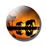 Refrigerator Door Magnet Badge/Stickers for Kitchen Deco (Elephant)Free Shipping