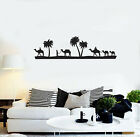 Vinyl Wall Decal Bedouins Desert Palm Camels Home Room Decor Stickers (ig5629)