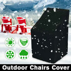 Outdoor Patio Waterproof Furniture Chair Covers Rain Snow Protector Garden Yard