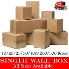 BROWN SHIPPING CORRUGATED CARDBOARD BOXES POSTAL MAILING PACKAGING SMALL PARCEL