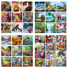 Paint By Numbers Kit DIY Number Canvas Hand Painting Kits Oil ArtWall Home Decor