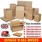 Brown Postal Corrugated Cardboard Packaging Boxes Small Parcel Shipping Cartons