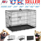 Dog Cage S M L XL XXL Pet Puppy Crate Carrier Home Foldable Training Kennel NEW√