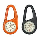 Outdoors Clip-On Carabiner Mountaineering Backpack Buckle Luminous Night Watch