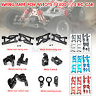 Rc Car Parts Accessories Metal Front Rear Wheel Swing Arm For Wltoys 144001 1/14
