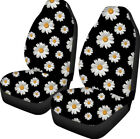Daisy Print Universal Full Set Car Seat Covers Auto Suv Truck Seat Cover