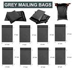 Strong Grey Mailing Post Mail Postal Bags Poly Postage Self Seal All Sizes UK
