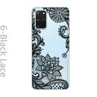 Ultra Slim Floral Phone Back Case Cover For Samsung Galaxy Nota 9 10 M20 M30 M10