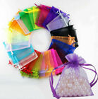 Organza Wedding Bags Xmas Party Gift Jewelry Candy Bag Net Mesh Colors Pouches