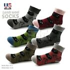 Lot 3 or 6 Pairs Womens Wool Cashmere Fuzzy Warm Socks Winter Thermal Soft Cozy
