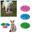 3 Colors Pet Dog Cat Slow Eating Feeder Bowl Puppy Silicone Feed Bloat Dish S L