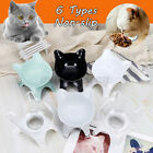 Pet Cat Bowl Food Water Feeder Feeding Dish Elevated Raised Stand Bowls Fountain