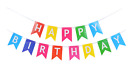 HAPPY BIRTHDAY - BUNTING BANNER - HANGING - PARTY DECORATIONS - GARLAND
