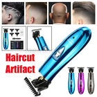 Electric Hair Clipper Push Shear Grooming Cordless Cutting T-Blade Trimmer