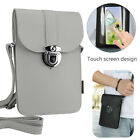 Women Cell Phone Purse Bag Shoulder Strap Wallet Touch Screen Cross-body Pouch