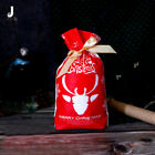 Drawstring Bag Cookie Package Bag Wedding Xmas Gift Bag Christmas Candy Pouches