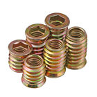 M6 M8 Threaded Insert Nuts Hex Socket In/Out For Wooden Furniture Connection