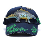 Childrens Dinosaur Baseball Cap 3D Dino Kids Hat Adjustable Size T-Rex