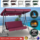 Outdoor Swing Chair W/ Canopy Garden Patio Furniture Hammock Seat Bench 3 Seater