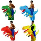 Inflatable Adult Kids Ride On Dinosaur T-Rex Halloween Costume