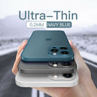 For iPhone 12 Pro Max 11 XS XR 8 7 X Matte Shockproof Ultra-thin Hard Case Cover