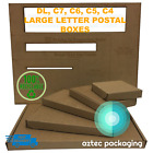 Royal Mail PIP *CHEAPEST Large Letter Box Cardboard Postal Post Mailing C4 C5 C6
