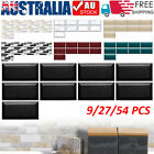 Diy Mosaic 3d Self Adhesive Wall Tile Sticker Bathroom Kitchen Modern Home Decor