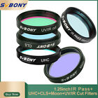 SVBONY 1.25'' UHC+CLS+Moon+UV/IR Cut Filters for Astronomy Telescope Observation
