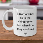 Chiropractor Mug - Novelty Coffee Tea Mug Great Gift For Chiropractor