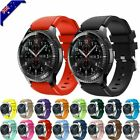 For Samsung Galaxy Watch 3 46mm Watch S3 Silicone Replacement Strap Wrist Band