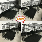 DAYPLUS DOG CAGE PUPPY TRAINING CRATE PET CARRIER - SMALL MEDIUM LARGE XL CAGES