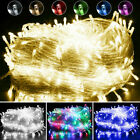 10-100M+Christmas+Fairy+String+Lights+LED+Indoor+UK+Plug+In+Wedding+Party+Decor