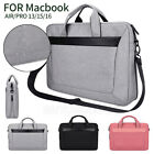 For Apple MacBook Air/Pro 13/15/16 inch Laptop Sleeve Business Travel Carry Bags