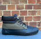 Vans Sk8 Hi Del Pato MTE Trainers Grape Leaf Black Scotchguard Duck Ship World