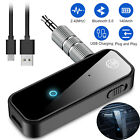 2in1 USB Wireless Bluetooth 5.0 Audio Transmitter Receiver Adapter 3.5mm Aux Car
