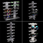 Clear Sunglasses Holder Rack Glasses Show Display Stand Organizer, Stable
