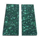 Reconstitute Malachite Turquoise Recon Stone Knife Handle Blank Scales Sheet 02