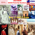 2021new Paint By Numbers Kit From Australia Diy Flower Animal Beauty Home Decor