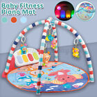 Large Baby Game Pad Music Pedal Piano Music Fitness Rack Crawling Mat Kids Toy