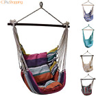 Hammock Armchair Levitating Chair Rocking Sitting Hanging Garden Pillows Fabric